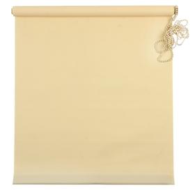 Штора рулонная «MJ», 50 х 160 см, цвет жёлтый