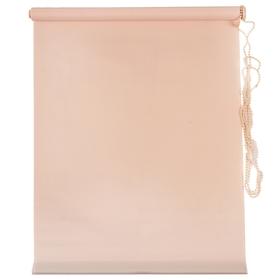 Штора рулонная «MJ», 140 х 160 см, цвет персик