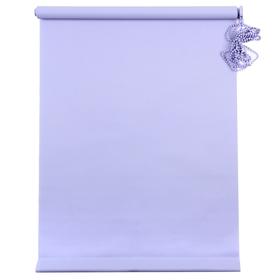 Штора рулонная «MJ», размер 100х160 см, цвет голубой