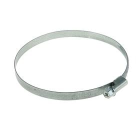 Хомут червячный «Стандарт», диаметр 100-120 мм, оцинкованный