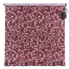 Штора рулонная «Англетер», 60 х 160 см, цвет шоколад
