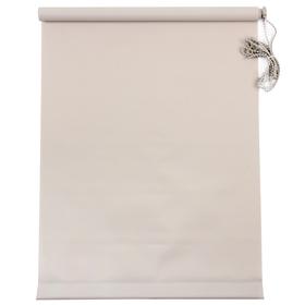 Штора рулонная «MJ», 50 х 160 см, цвет серый