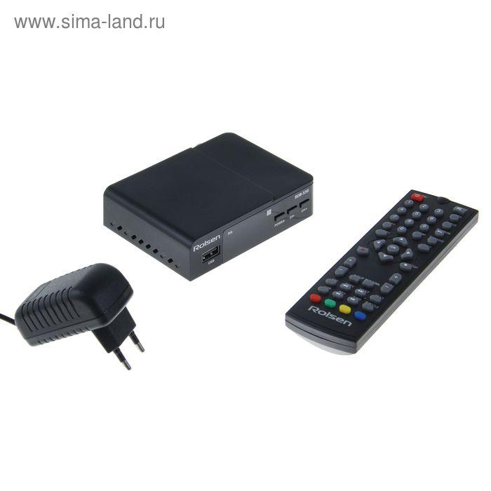 ТВ-приставка DVB-T2 ресивер Rolsen RDB-530
