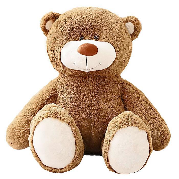 """Мягкая игрушка """"Мишка Барни"""", цвет серо-коричневый"""