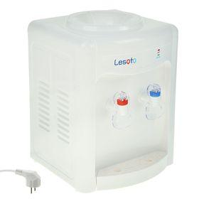 Кулер для воды LESOTO 34 TK, только нагрев, 550 Вт, белый