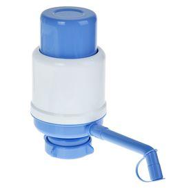 Помпа для воды LESOTO Ideal, механическая, под бутыль от 11 до 19 л, голубая