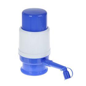 Помпа для воды LESOTO Mini, механическая, под бутыль от 11 до 19 л, голубая