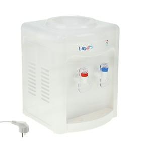 Кулер для воды LESOTO 34 TD, нагрев и охлаждение, 500-550/68 Вт, белый