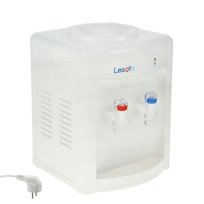 Кулер для воды Lesoto 34 TD, с охлаждением, 450 Вт, белый