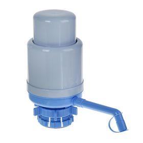 Помпа для воды LESOTO Standart, механическая, под бутыль от 11 до 19 л, голубая