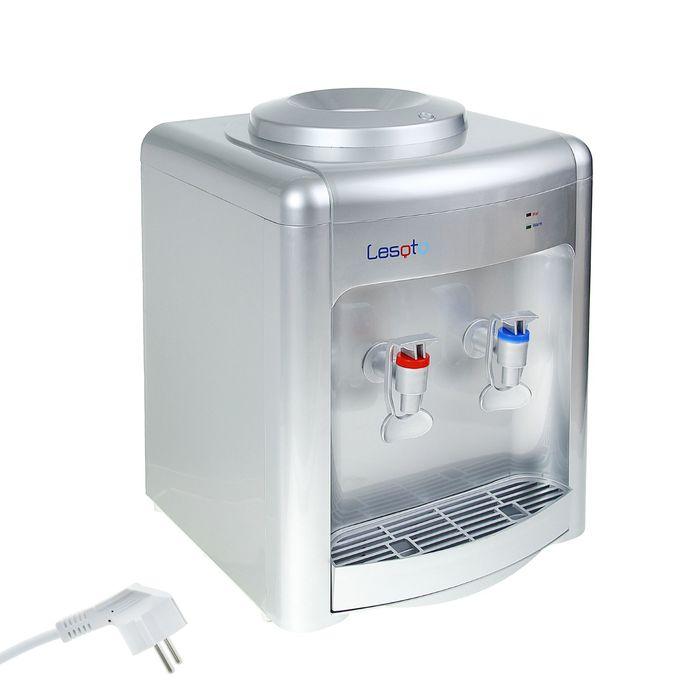 Кулер для воды Lesoto 36 TK, только нагрев, 500 Вт, цвет серебро