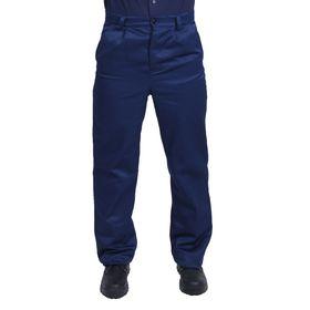 Брюки рабочие, размер 44-46, рост 170-176 см, цвет синий Ош