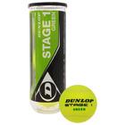 Мяч теннисный Dunlop Stage 13B, набор 3 штуки, фетр