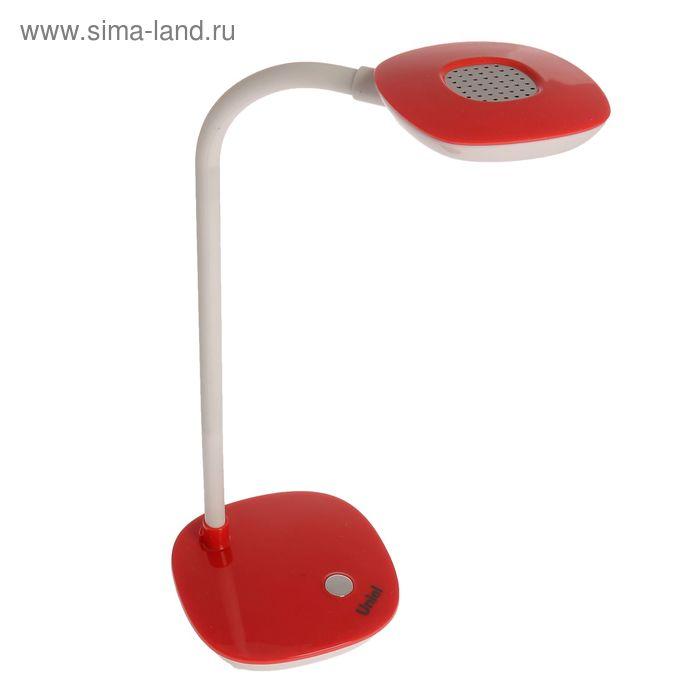 """Светильник настольный """"Ксандр"""", красный, LED"""
