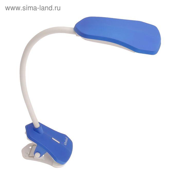 """Светильник настольный """"Бэкрион"""", синий, LED"""