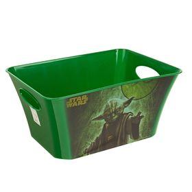 Корзина для игрушек 'Звёздные войны', 5 л, цвет зелёный Ош