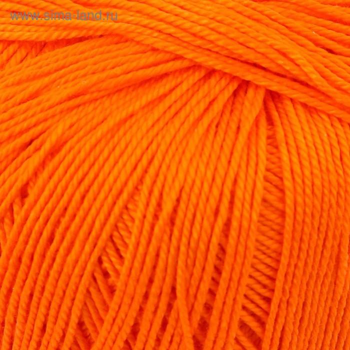 """Пряжа """"Успешная"""" 100% мерсеризованный хлопок 220м/50гр (284-Оранжевый)"""