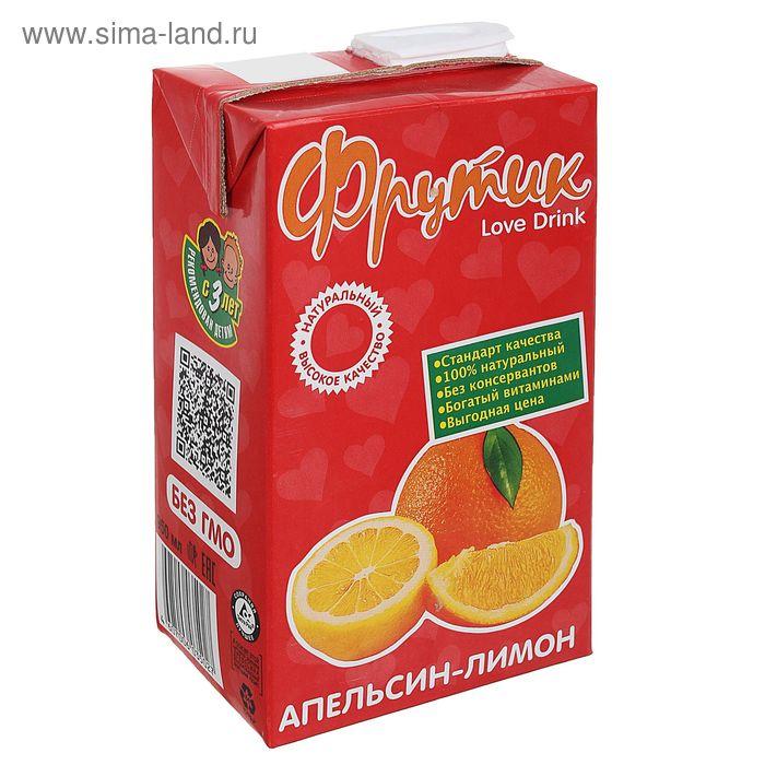 """Напиток """"Фрутик"""", из апельсинов и лимонов, 0,95 л"""
