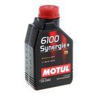 Моторное масло MOTUL 6100 Synergie + 5W-40, 1 л