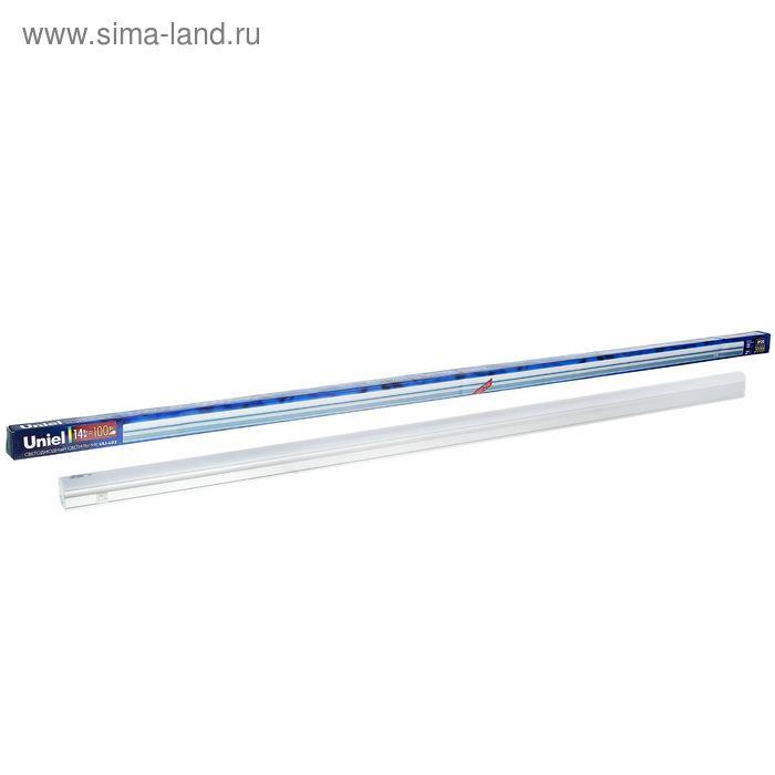 Светильник светодиодный Uniel, 14 Вт, 4200 К, 1100 Лм, 1152х27х33 мм, свет белый