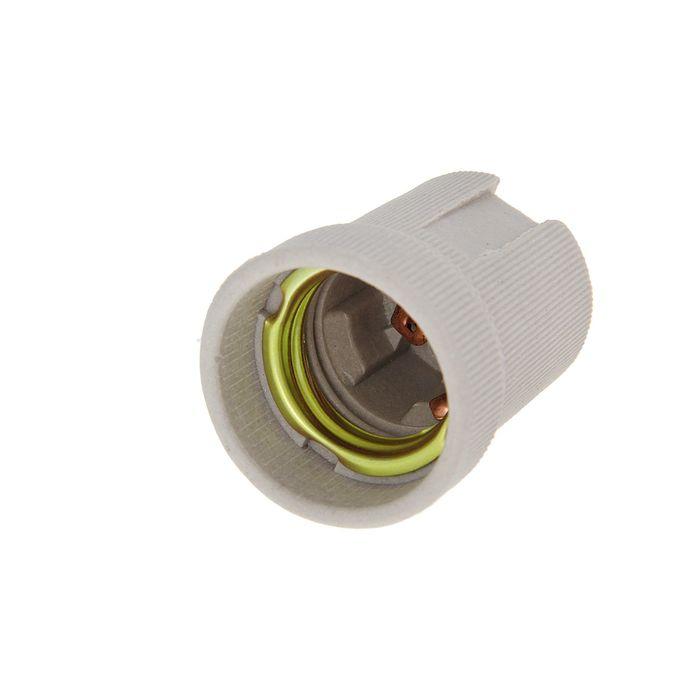 Патрон для ламп Uniel, Е27, керамика, без провода