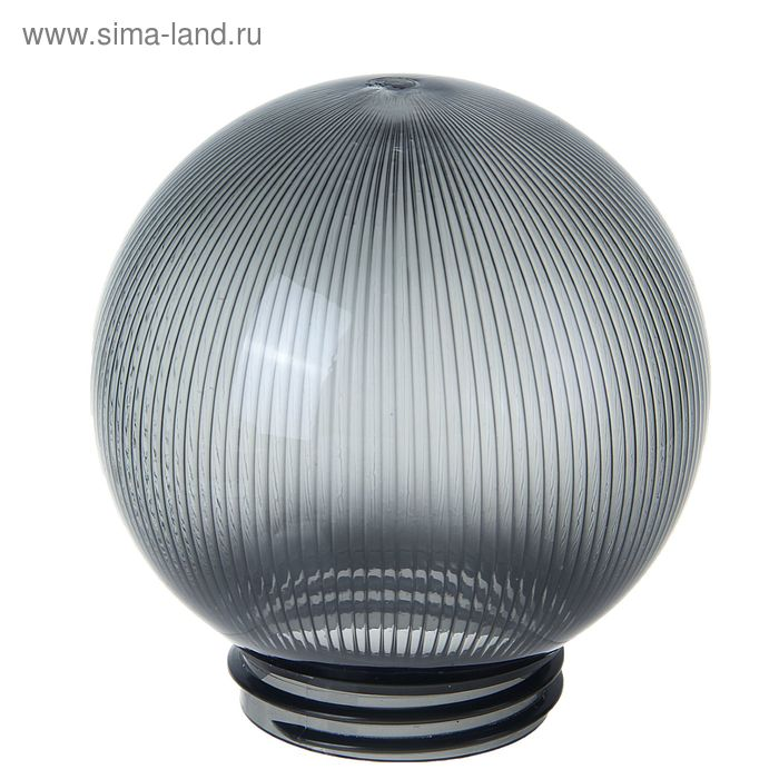 Рассеиватель призматический Uniel, с резьбовым способом крепления, 150х85х20 мм, дымчатый