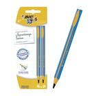 Набор карандашей чернографитных JUMBO 2 штуки BIC Kids HB д.4мм, пластиковые 919261