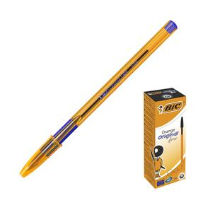 Ручка шариковая BIC Orangе, чернила черные, узел 0.8мм, одноразовая Ош