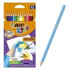 Карандаши акварельные 12 цветов BIC Kids Aquacouleur