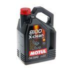 Моторное масло MOTUL 8100 X-Clean 5W-40 A3/B4/C3, 4 л 1435184