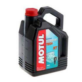 Моторное масло MOTUL Outboard TECH 2T, 5 л