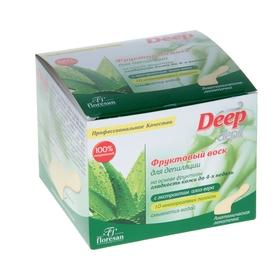Deep Depil fruit wax for depilation with aloe vera, 350 ml.