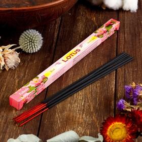 """Благовония Sarathi """"Lotus. Лотос"""", 8 палочек в упаковке, четырёхгранник"""