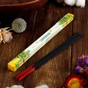 """Благовония Sarathi """"Lemon Grass. Лимонник"""", 8 палочек в упаковке, четырёхгранник"""