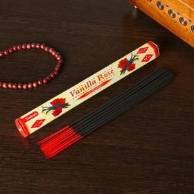 """Благовония Sarathi """"Vanilla Rose. Ваниль роза"""", 20 палочек в упаковке, шестигранник"""