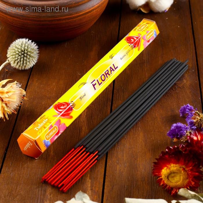 Благовония шестигранник Sarathi Floral Цветочный 20 палочек в упаковке