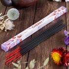"""Благовония Sarathi """"Cherry. Вишня"""", 8 палочек в упаковке, четырёхгранник"""