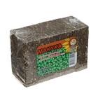 Макуха - блок подсолнечника с добавкой гороха, вес 350 г