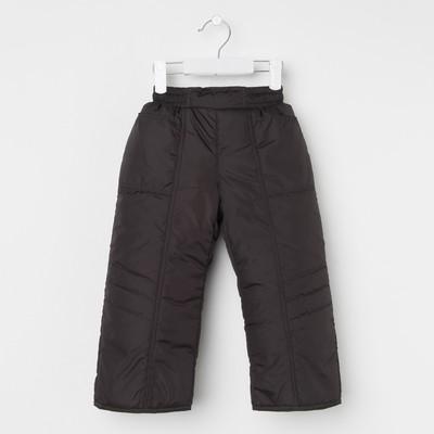 Брюки для мальчика, рост 92 см, цвет черный_Б 02-51