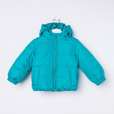 Куртка для девочки балон, рост 92 см, цвет бирюза_КУД 02-41