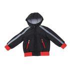 Куртка для мальчика, рост 116 см, цвет черный_КМ 02-13