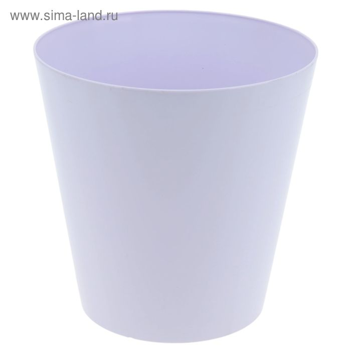"""Кашпо 17 см """"Вулкано"""", цвет лавандовый"""