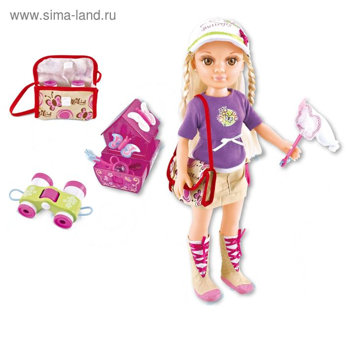 "Кукла ""Путешественница"" в пакете"