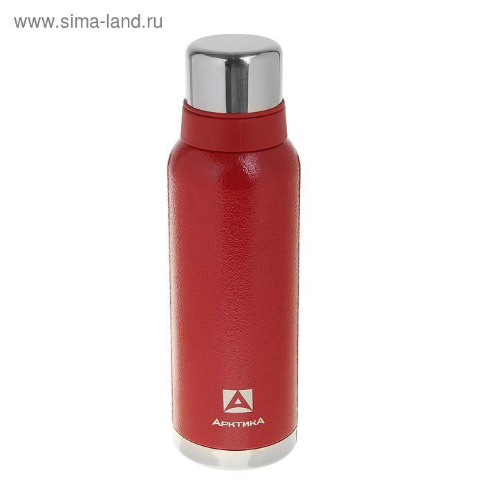 Термос вакуумный для напитков, 1200 мл, красный