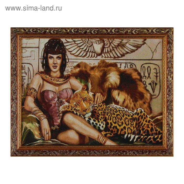 """Гобеленовая картина """"С леопардом"""""""