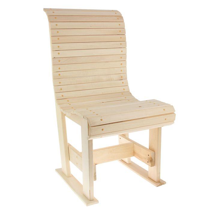 """Кресло """"Русич"""" 50 х 60 х 100 см, липа"""