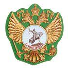 Магнит в форме герба «Башкирия»