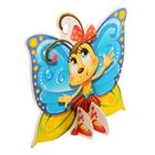 """Открытка фигурная на подставке """"Бабочка-чудесница"""""""