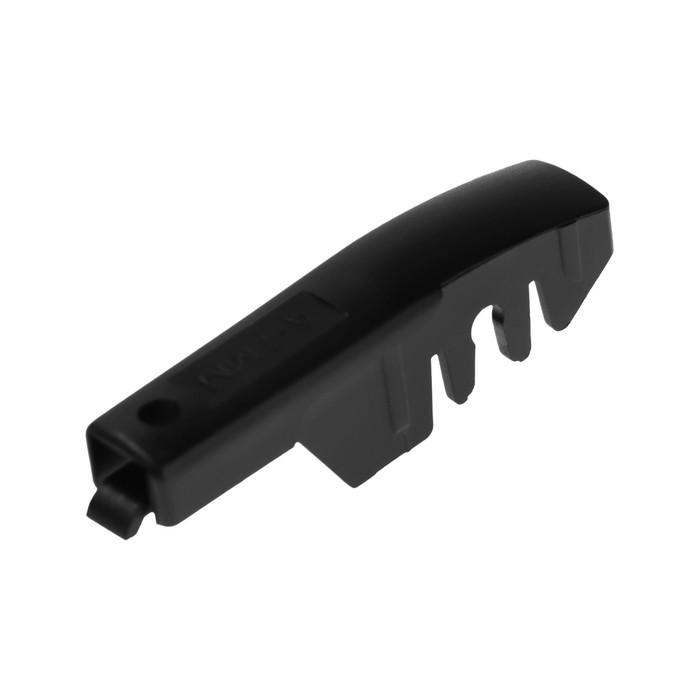 """Щётка стеклоочистителя TORSO, 16""""/40 см, каркасная, с графитовым покрытием, 2 переходника"""