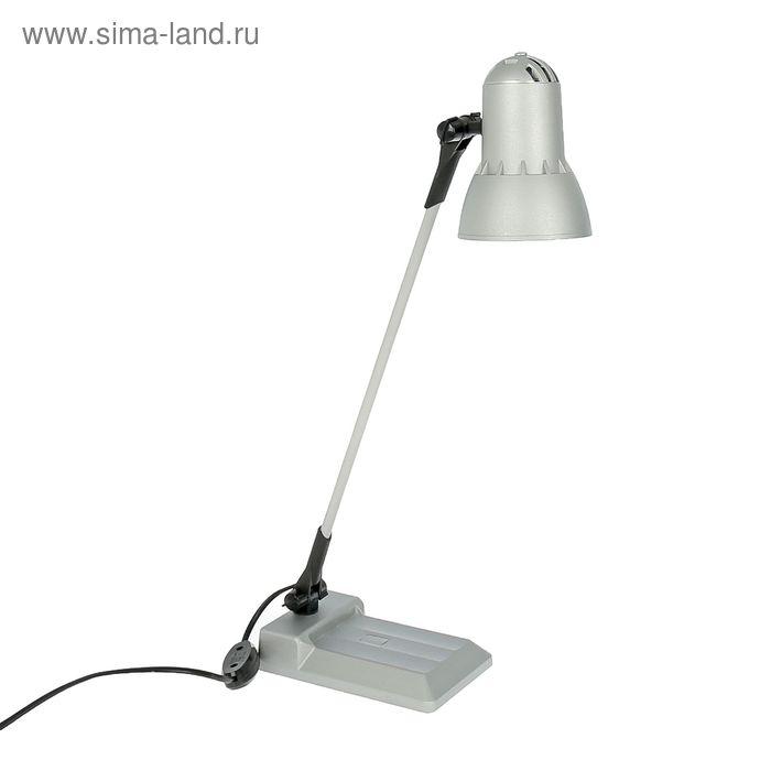 """Светильник настольный на подставке """"Надежда-1"""", серебро"""